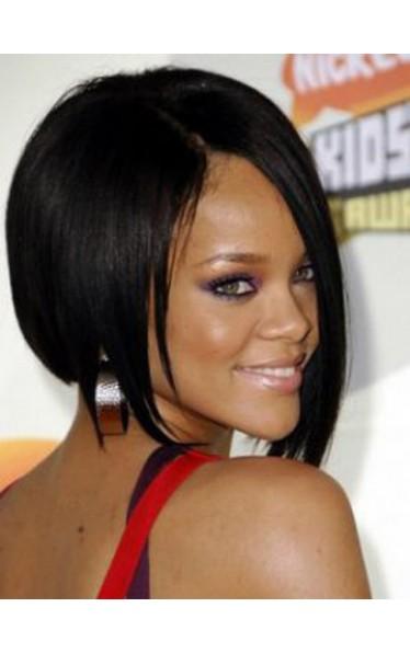 Rihanna Kurz Glatt Promi Perücken