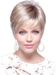 Blonde perucke kurz